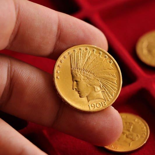 casa de empeño monedas antiguas